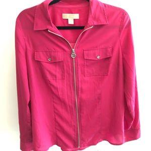 Michael Kors Fuschia Pink Shirt
